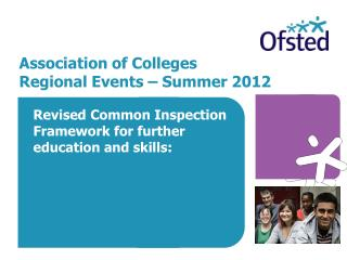 Association of Colleges Regional Events – Summer 2012