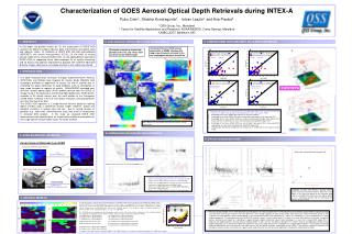 Characterization of GOES Aerosol Optical Depth Retrievals during INTEX-A