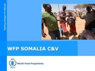 WFP SOMALIA C&V