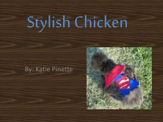 Stylish Chicken