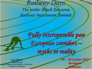 Railway Days The wider Black Sea area  Railway Investment Summit