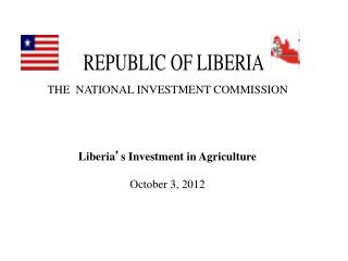 THE  NATIONAL INVESTMENT COMMISSION