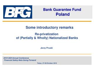 Some introductory remarks Re-privatization  of (Partially & Wholly) Nationalized Banks