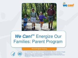 We Can Energize Our Families: Parent Program