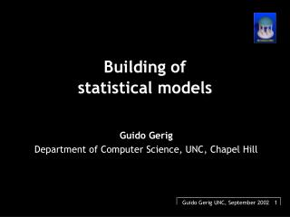 Building of  statistical models