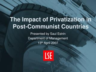 The Impact of Privatization in Post-Communist Countries