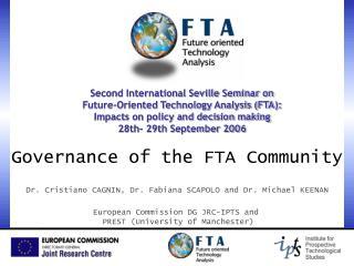 Governance of the FTA Community