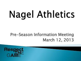 Nagel Athletics