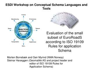Evaluation of the small subset of EuroRoadS according to ISO 19109 Rules for application Schema