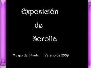 Museo del Prado    Verano 2009