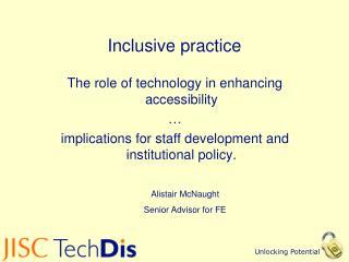 Inclusive practice