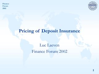 Pricing of Deposit Insurance