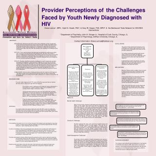 Provider Perceptions of the Challenges Faced by Youth Newly Diagnosed with HIV