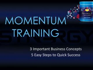 MOMENTUM TRAINING