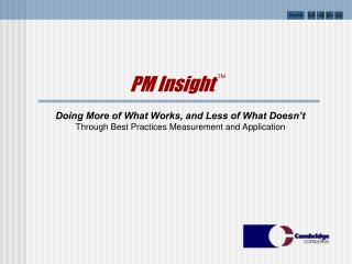 PM Insight  