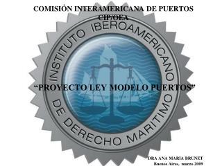 COMISIÓN INTERAMERICANA DE PUERTOS CIP/OEA