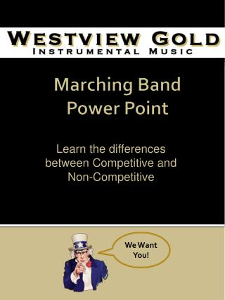 Marching Band  Power Point