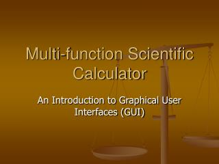 Multi-function Scientific Calculator