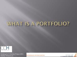 What is a Portfolio ?