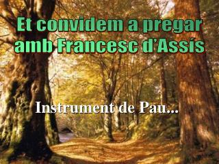 Instrument de  Pau...
