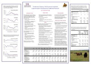 Continuous Calving:  Are Economic Incentives  Large Enough to Eliminate the Traditional Practice?