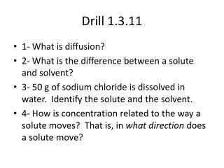 Drill 1.3.11