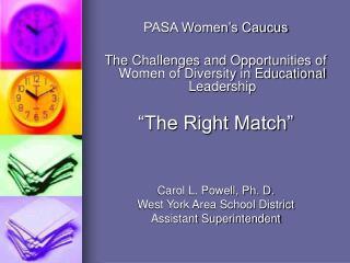 PASA Women's Caucus