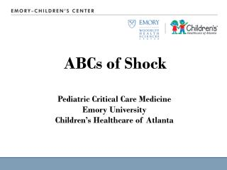 ABCs of Shock