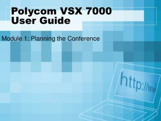 Polycom VSX 7000  User Guide