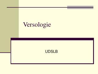 Versologie