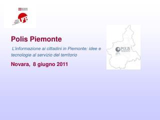 Polis Piemonte