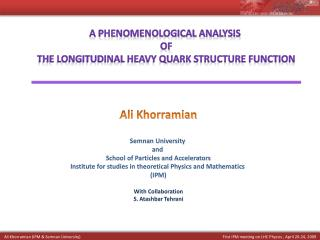 A Phenomenological Analysis  of  the Longitudinal Heavy Quark Structure Function