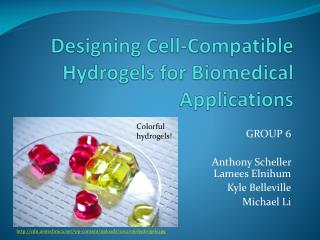 Designing Cell-Compatible Hydrogels for Biomedical Applications