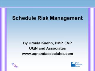 Schedule Risk Management