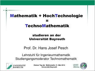 Prof. Dr. Hans Josef Pesch