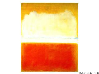 Mark Rothko, No. 8 (1952)