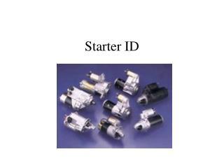 Starter ID
