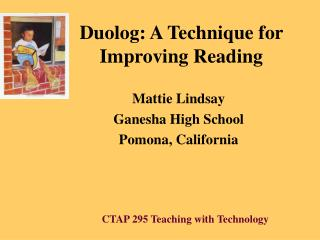 Duolog: A Technique for Improving Reading