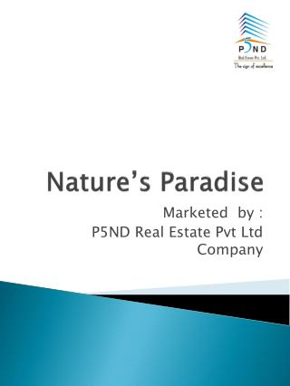 Nature�s Paradise