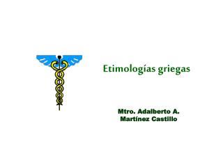 Etimologías griegas