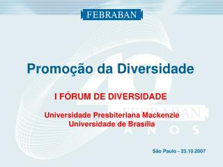Promoção da Diversidade