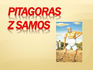 pitagoras  z  samos