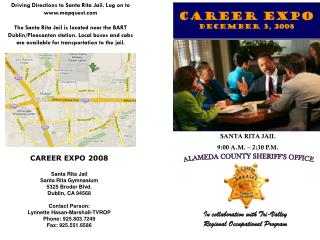 Career expo DECEMBER 3, 2008