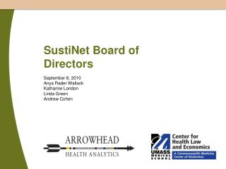 SustiNet Board of Directors