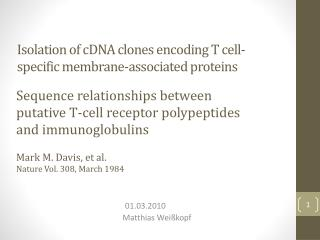 Isolation of cDNA clones encoding T cell-specific membrane-associated proteins