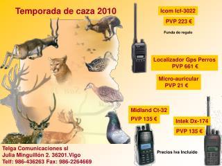 Temporada de caza 2010