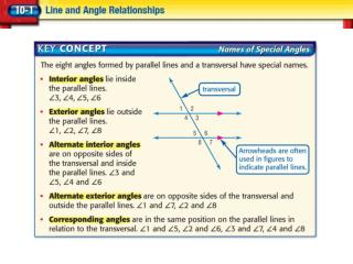 Find Measures of Angles