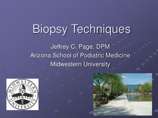Biopsy Techniques