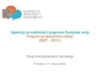 Program za cjeloživotno učenje