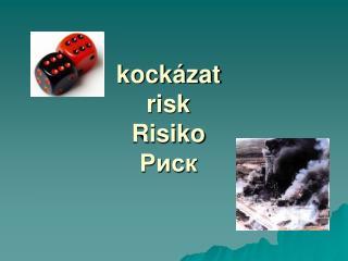 Kock zat risk Risiko